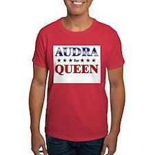 AUDRA for queen T-Shirt