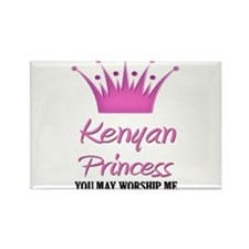 Kenyan Princess Rectangle Magnet (10 pack)