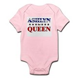 ASHLYN for queen Onesie