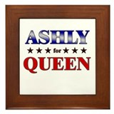 ASHLY for queen Framed Tile