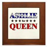 ASHLIE for queen Framed Tile
