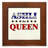 ASHLI for queen Framed Tile