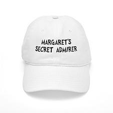 Margarets secret admirer Baseball Cap