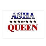 ASHA for queen Postcards (Package of 8)
