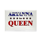 ARYANNA for queen Rectangle Magnet