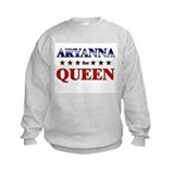 ARYANNA for queen Sweatshirt
