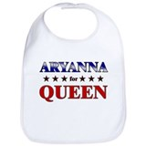 ARYANNA for queen Bib