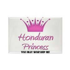 Honduran Princess Rectangle Magnet (10 pack)