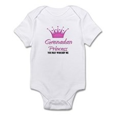 Grenadan Princess Infant Bodysuit
