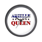 ARIELLE for queen Wall Clock