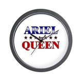 ARIEL for queen Wall Clock