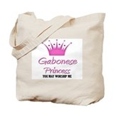 Gabonese Princess Tote Bag