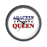 ARACELY for queen Wall Clock