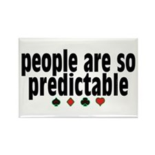 So Predictable Rectangle Magnet (100 pack)
