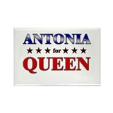 ANTONIA for queen Rectangle Magnet