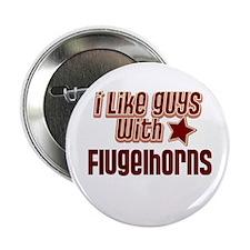 "I like guys with Flugelhorns 2.25"" Button"