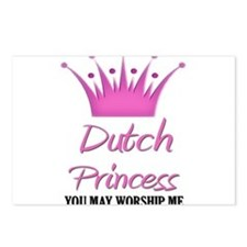 Dutch Princess Postcards (Package of 8)