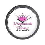 Dominican Princess Wall Clock