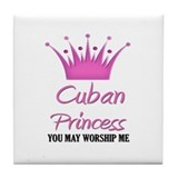 Cuban Princess Tile Coaster