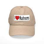 I Love Mushrooms Cap
