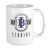 Mug with the IBS logo on it.