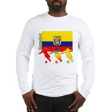 Ecuador Soccer Long Sleeve T-Shirt