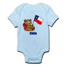 Chile Teddy Bear Onesie
