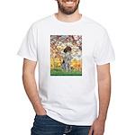 Spring / Ger SH White T-Shirt