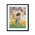 Spring / Ger SH Framed Panel Print