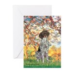 Spring / Ger SH Greeting Cards (Pk of 20)