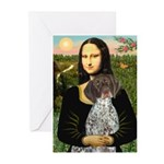 Mona / Ger SH Pointer Greeting Cards (Pk of 10)