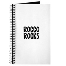 Rocco Rocks Journal