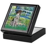 Bridge / Ger SH Pointer Keepsake Box