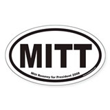 MITT Euro Oval Stickers