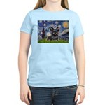 Starry / Black Skye Terrier Women's Light T-Shirt