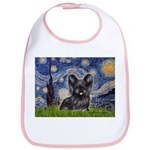 Starry / Black Skye Terrier Bib