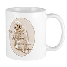 Golden Love Coffee Mug