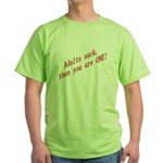 The Mr. V 100 Shop Green T-Shirt