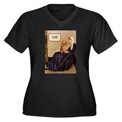 Whistler's /Dachshund(LH-Sabl) Women's Plus Size V