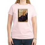 Whistler's /Dachshund(LH-Sabl) Women's Light T-Shi