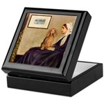 Whistler's /Dachshund(LH-Sabl) Keepsake Box