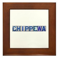 Chippewa Framed Tile