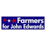 Farmers for John Edwards bumpersticker