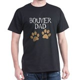 Big Paws Bouvier Dad T-Shirt