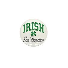 San Francisco Irish Mini Button (10 pack)