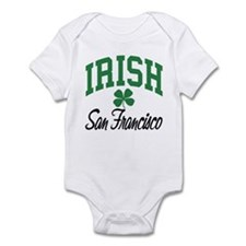 San Francisco Irish Infant Bodysuit