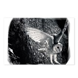 Cool Fearful owl Postcards (Package of 8)