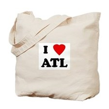 I Love ATL Tote Bag