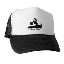 """I Wanna Ride!"" Trucker Hat"