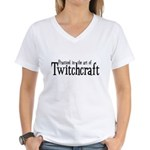 Practiced in Twitchcraft Women's V-Neck T-Shirt